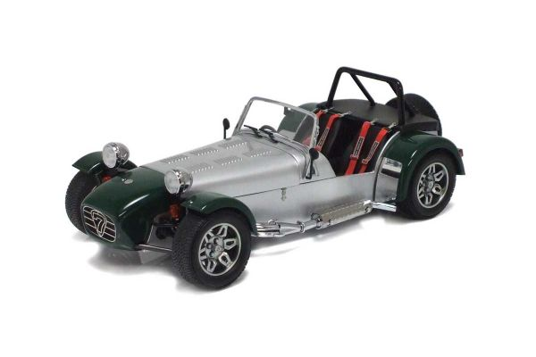 KYOSHO 1/18scale Caterham Super Seven Cycle Fender Green [No.K08222SG]