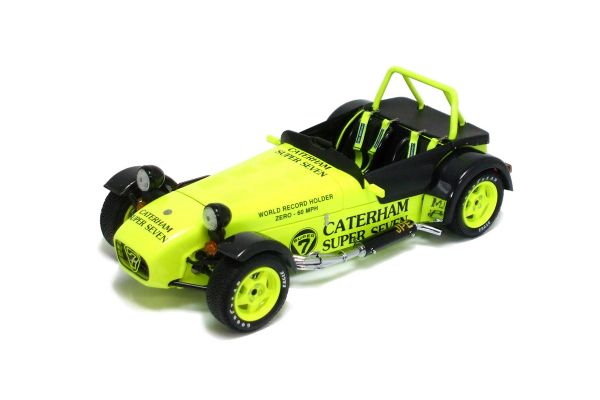 KYOSHO 1/18scale Caterham SuperSeven JPE Yellow Interior:Carbon Texture [No.K08225Y]