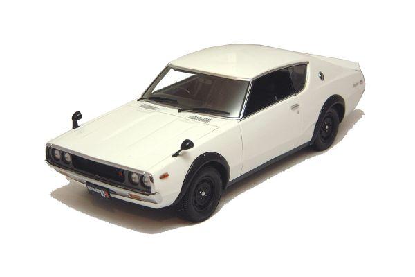 KYOSHO 1/18scale NISSAN SKYLINE GT-R (KPGC110) White [No.K08251W]