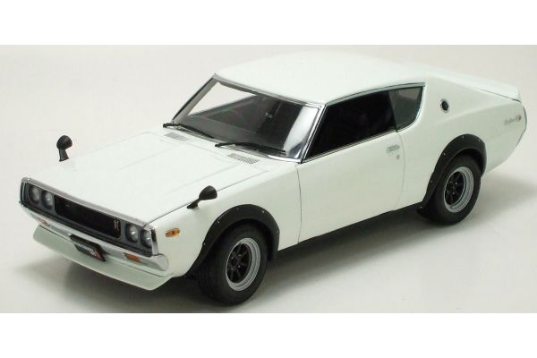 KYOSHO 1/18scale Nissan Skyline GT-R Ken & Mary F Spoiler RS Watanabe Wheels White [No.K08254W]