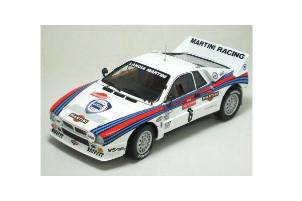 KYOSHO 1/18scale Lancia 037 Rally 1983 Sanremo Winner No.6 [No.K08302F]
