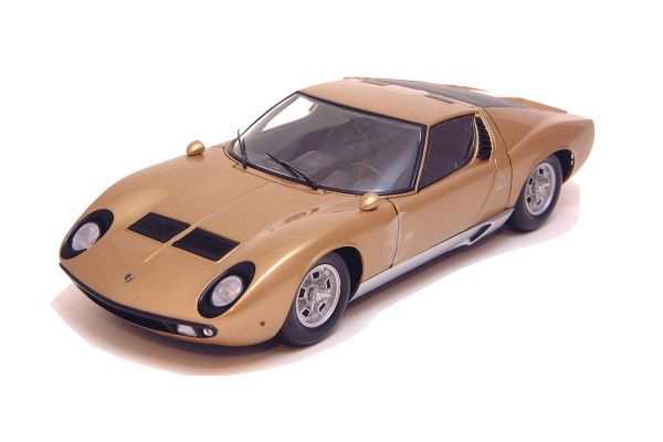 KYOSHO 1/18scale Lamborghini Miura P400 (Limited Color) Gold [No.K08312GL]