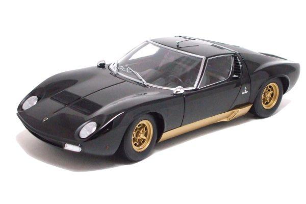 KYOSHO 1/18scale Lamborghini Miura SV Black [No.K08313BK]