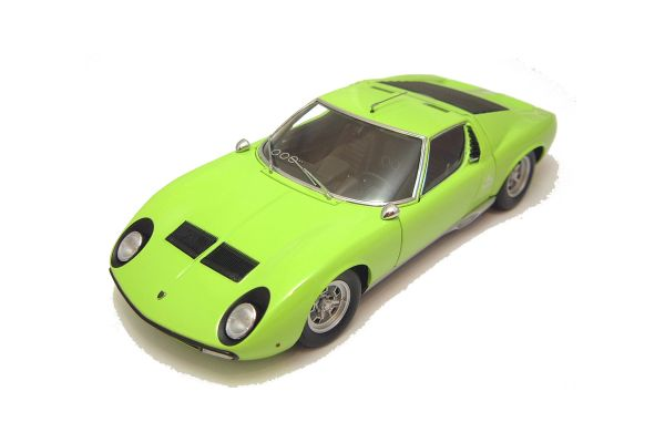 KYOSHO 1/18scale LAMBORGHINI MIURA P400 SV Light Green [No.K08313LG]