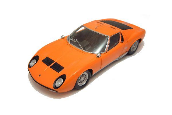 KYOSHO 1/18scale LAMBORGHINI MIURA P400 SV Orange [No.K08313P]