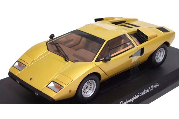 KYOSHO 1/18scale LAMBORGHINI COUNTACH LP400 Gold [No.K08321G]