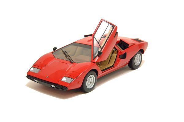 KYOSHO 1/18scale LAMBORGHINI COUNTACH LP400 Red [No.K08321R]