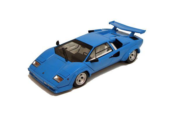 KYOSHO 1/18scale Lamborghini Countach LP5000QV Blue [No.K08327BL]