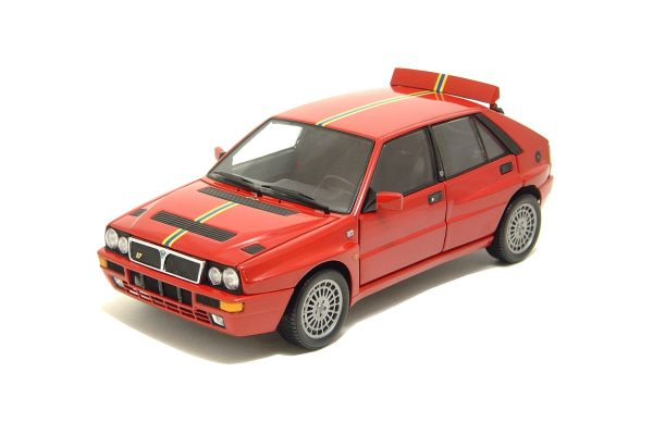 KYOSHO 1/18scale LANCIA DELTA INTEGRALE Evo.2 'COLLEZIONE' Red/Yellow Stripe [No.K08341C]
