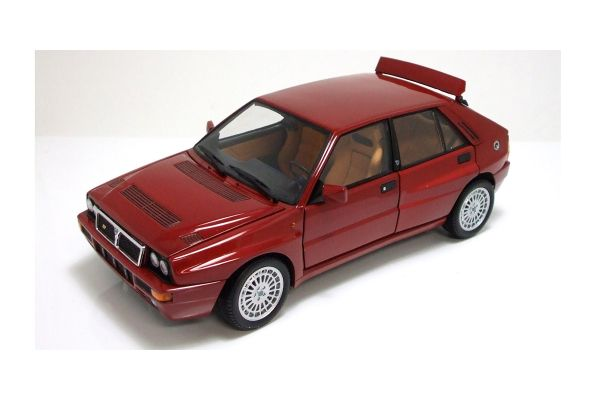 KYOSHO 1/18scale Lancia Delta HF Integrale Bordeaux Red Mica [No.K08341RM]