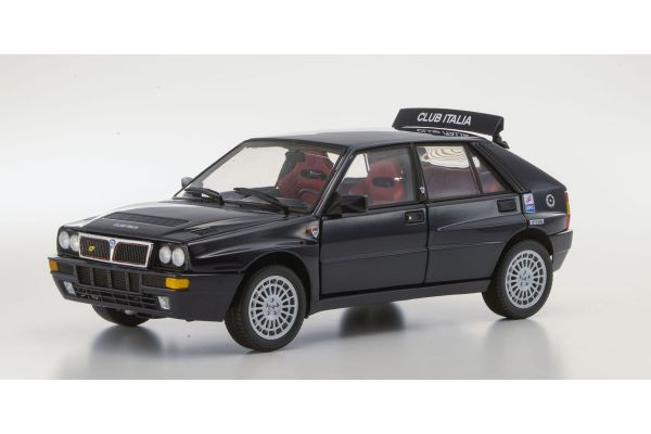 KYOSHO 1/18scale Lancia Delta HF Integrale Club Italia Dark Blue [No.K08344C]