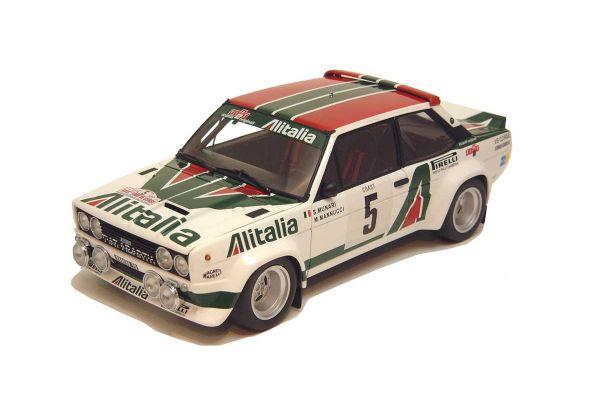 KYOSHO 1/18scale Fiat 131 Abarth Rally Alitalia (No.5 / 1978 Tour De Corse) White / No.5 [No.K08371C]
