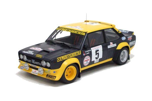 KYOSHO 1/18scale Fiat 131 No.5 1977 Tour De Corse  [No.K08372A]