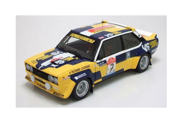 KYOSHO 1/18scale Fiat 131 4 Rombi Corse (Orio Fiat VS) Markuu Alen Rally Sanremo 1980  [No.K08372E]