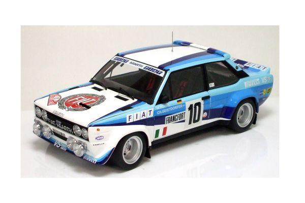 KYOSHO scale Fiat 131 ABARTH WORKS No10 1980 Monte Carlo Rally Winner  [No.K08373A]