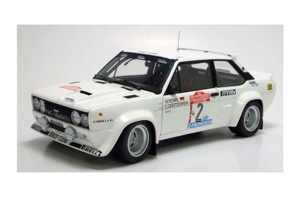 KYOSHO 1/18scale Fiat 131 Abarth No.2 Rallye Sanremo 1980  [No.K08375B]