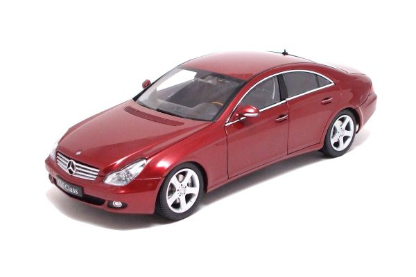 KYOSHO 1/18scale Mercedes-Benz CLS Red [No.K08401R]
