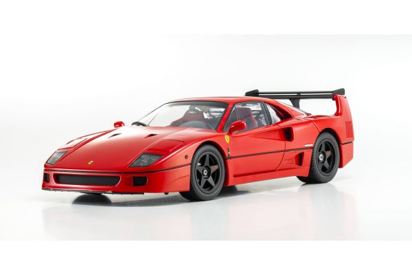 KYOSHO 1/18scale Ferrari F40 LM Wing Red [No.K08415]