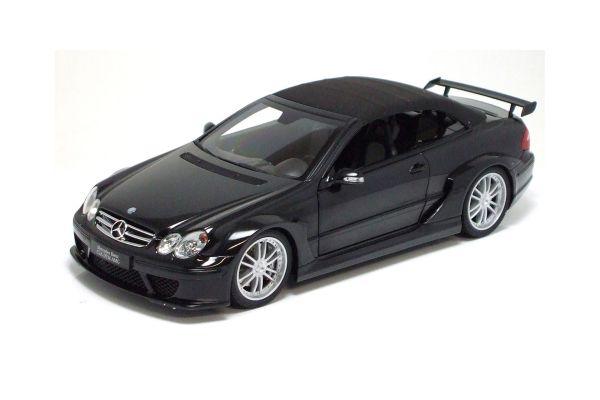KYOSHO 1/18scale Mercedes Benz CLK DTM AMG Street Cabriolet Black [No.K08462BK]