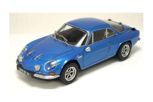 KYOSHO 1/18scale Alpine Renault A110 1600SC 1974 Alpine Blue [No.K08482BL]