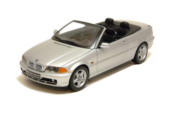 KYOSHO 1/18scale BMW 328 CABRIOLET Silver [No.K08504S]
