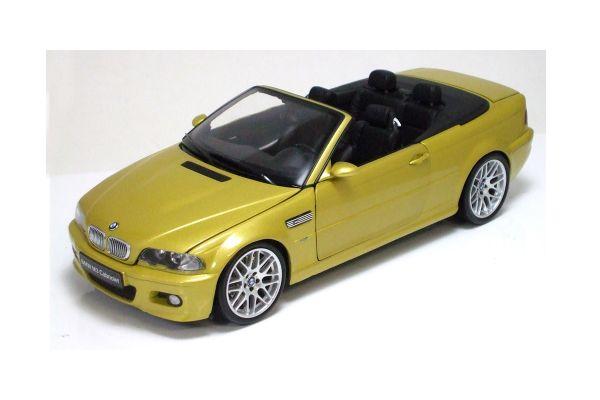 KYOSHO 1/18scale BMW M3 Cabriolet Yellow [No.K08505Y]