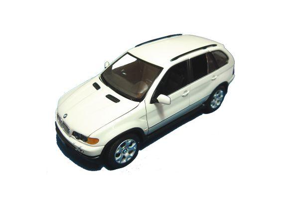 KYOSHO 1/18scale BMW X5 4.4i White [No.K08521W]