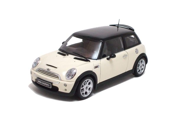 KYOSHO 1/18scale BMW Mini Cooper S White [No.K08555W]
