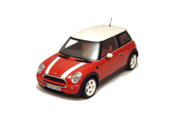 KYOSHO 1/18scale MINI ONE AERO Red/Whiteline / LHD [No.K08556R]