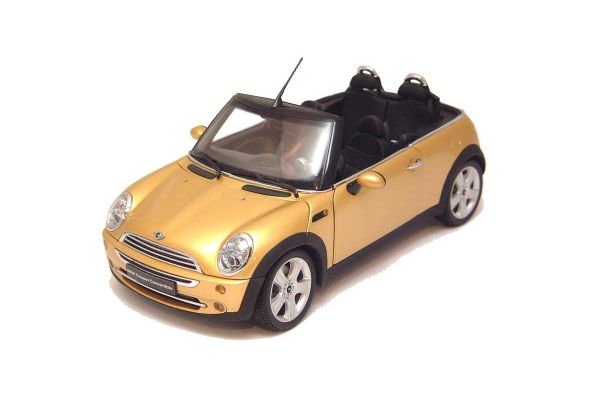 KYOSHO 1/18scale MINI COOPER CONVERTIBLE Gold [No.K08559GL]