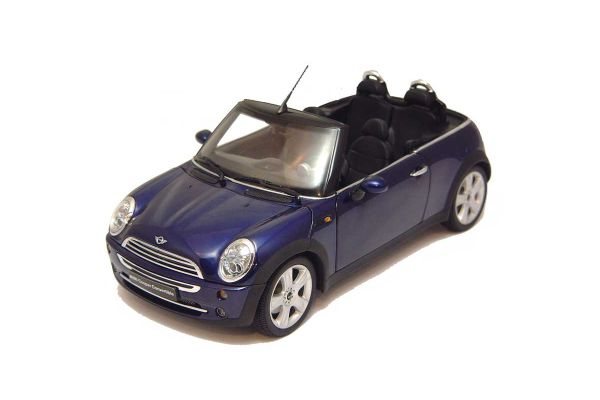 KYOSHO 1/18scale MINI COOPER CONVERTIBLE Purple [No.K08559PB]
