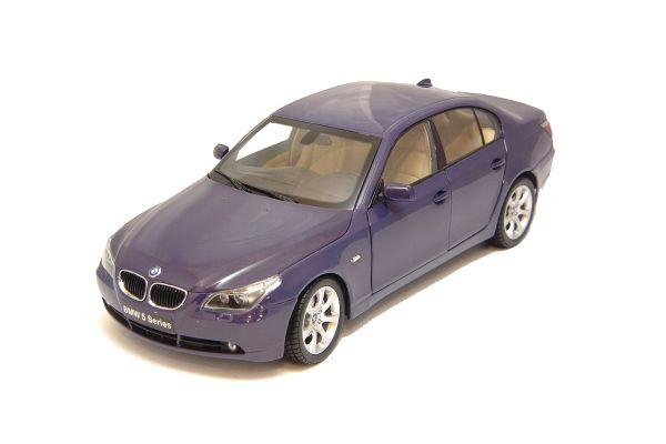 KYOSHO 1/18scale BMW 545i SEDAN Purple Metallic [No.K08591SP]