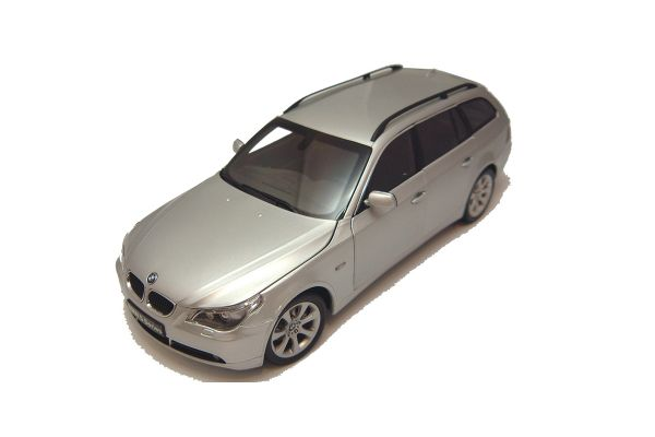 KYOSHO 1/18scale BMW 5-SERIES TOURING Silver [No.K08592S]