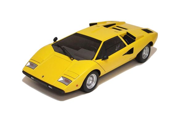 KYOSHO 1/12scale Lamborghini Countach LP400 Yellow [No.K08611Y]