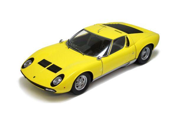 KYOSHO 1/12scale Lamborghini  Miura  P400 SV Yellow [No.K08622Y]