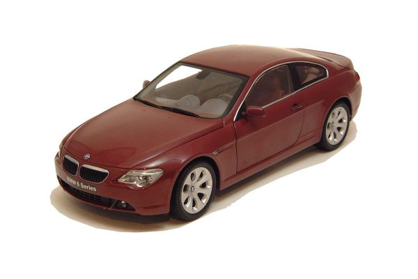KYOSHO 1/18scale BMW 645CI COUPE(E63) Red [No.K08701CR]