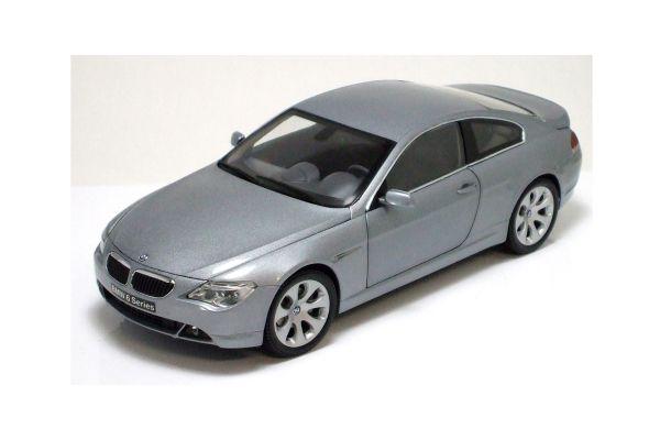 KYOSHO 1/18scale BMW 645Ci COUPE Silver [No.K08701S]