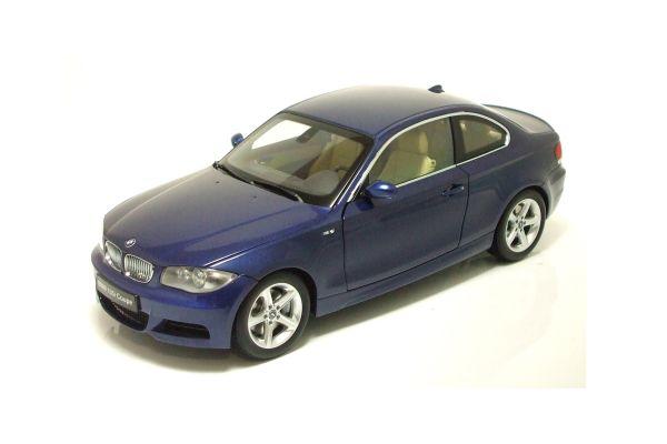 KYOSHO 1/18scale BMW 135i Coupe (E82) Blue [No.K08722BL]