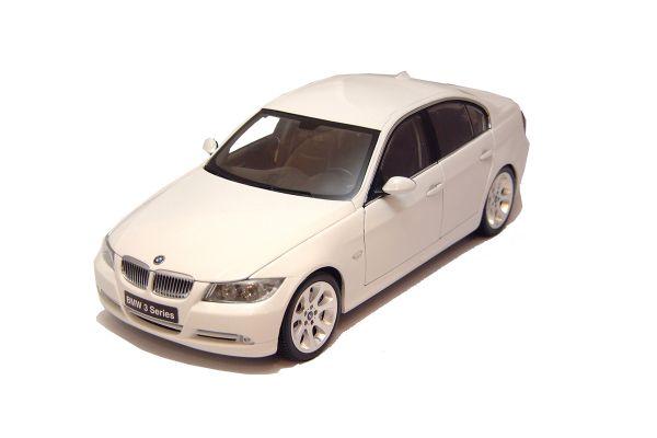 KYOSHO 1/18scale BMW 3-SERIES SEDAN White [No.K08731W]