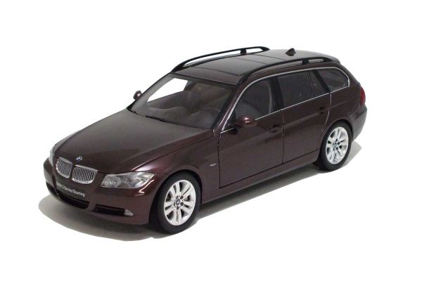 KYOSHO 1/18scale BMW 3 Series Touring (E91) Barrick Red [No.K08733BR]