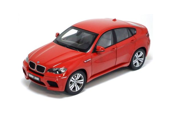 KYOSHO scale BMW X6M (E71M) 2009 MelbourneRed [No.K08762R]