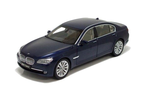 KYOSHO 1/18scale New BMW 7Series (F02) Long Wheel Base Version Blue Metallic [No.K08781BL]