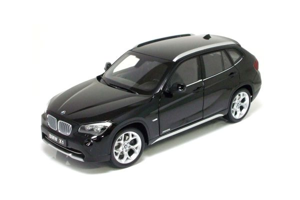 KYOSHO 1/18scale BMW X1 xDrive 28i (E84) Jet black [No.K08791BK]
