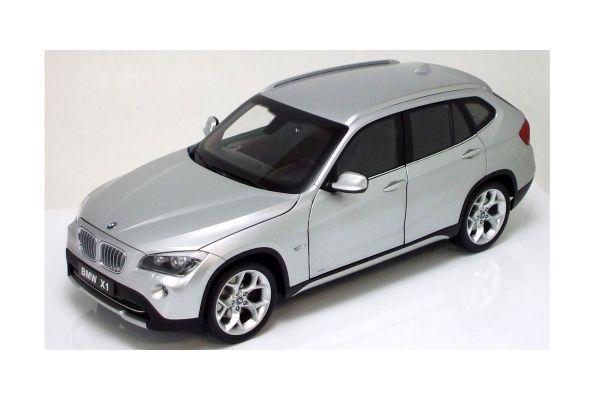 KYOSHO 1/18scale BMW X1 Titan Silver [No.K08791S]
