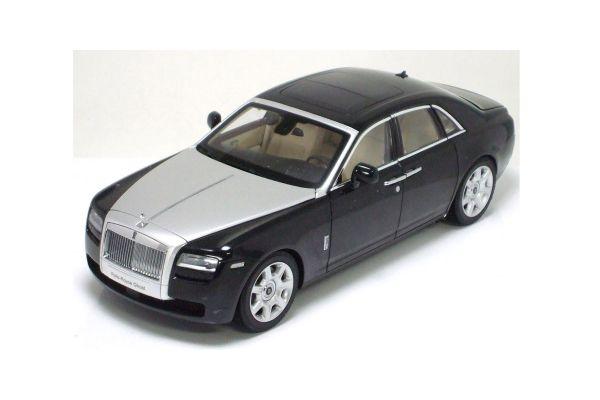 KYOSHO 1/18scale Rolls-Royce GHOST Diamond Black [No.K08801BK]