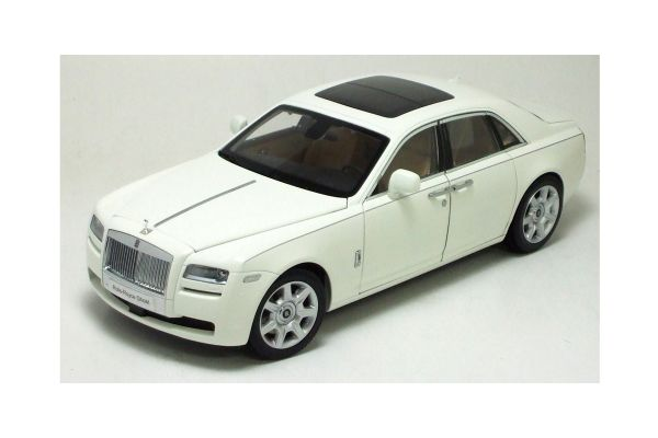KYOSHO 1/18scale ROLLS-ROYCE GHOST ENGLISH WHITE II / MOCCASIN [No.K08801EW]