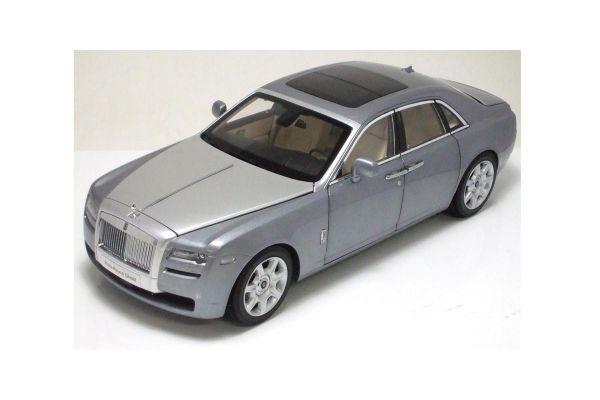 KYOSHO 1/18scale Rolls Royce Ghost Jubilee Silver [No.K08801S]