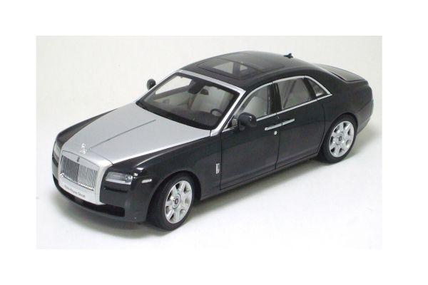 KYOSHO 1/18scale Rolls-Royce Ghost Dark Tungsten [No.K08801TGR]