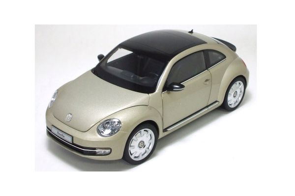 KYOSHO 1/18scale Volkswagen The Beetle Moon Rock Silver [No.K08811MS]