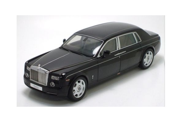 KYOSHO 1/18scale Rolls-Royce Phantom Extended Wheelbase Black [No.K08841BKU]